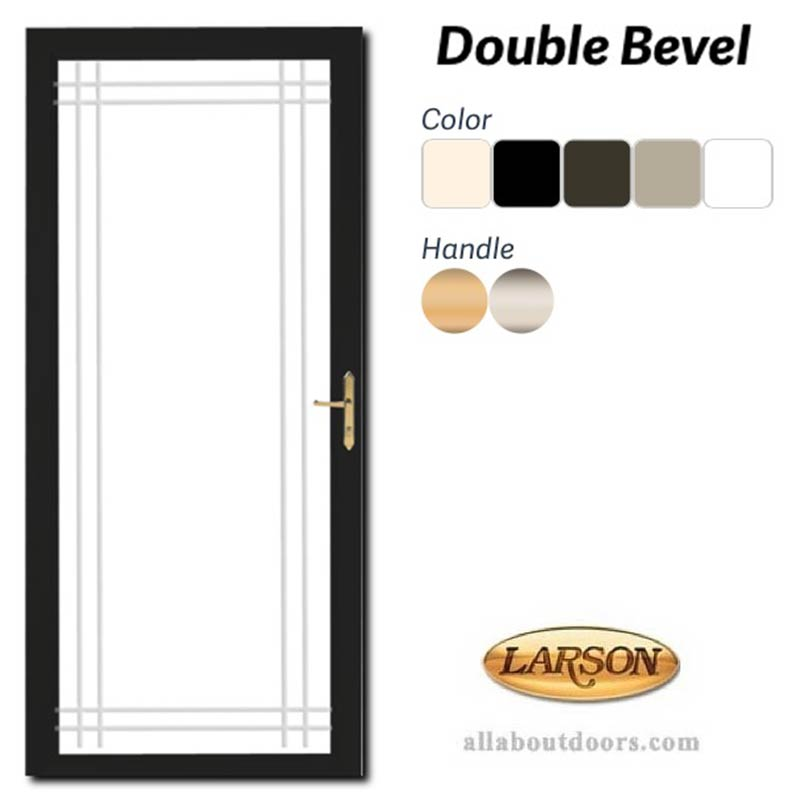 Main on Larson Secure Elegance Storm Door