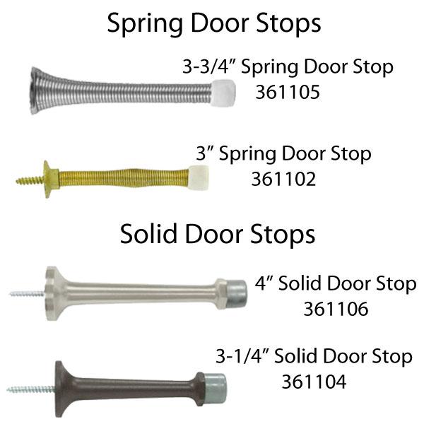 3 3 4 Quot Inch Heavy Duty Spring Door Stop Choose Finish