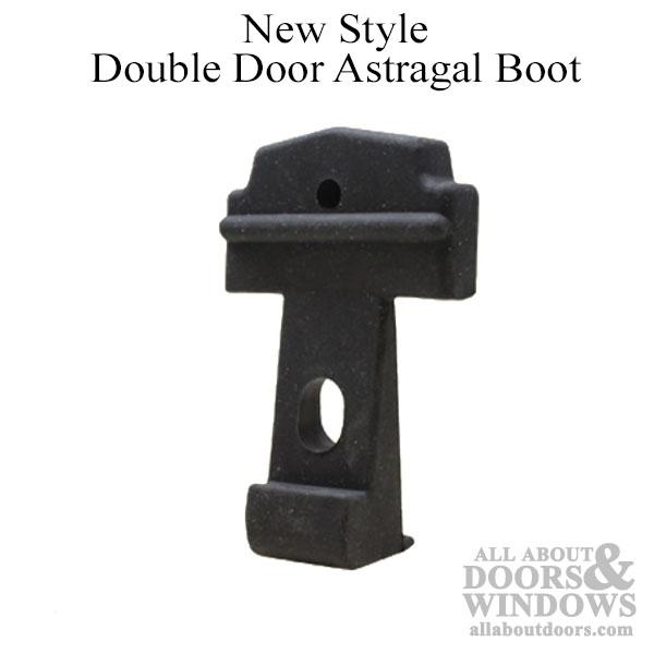 Astragal Part Rubber Boot Therma Tru Double Door Black