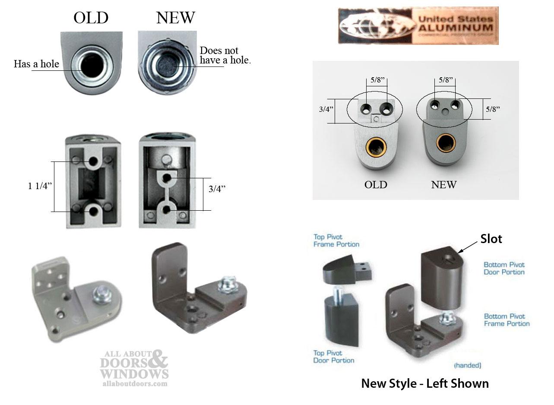Us Aluminum Storefront Pivot Hinge Kit Right Hand