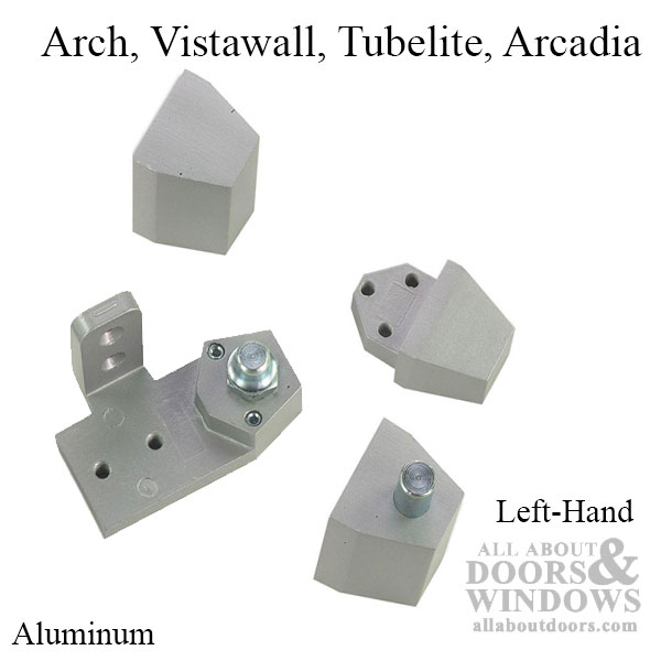 Store Front Commercial Doors Pivot Hinge Arch Vistawall