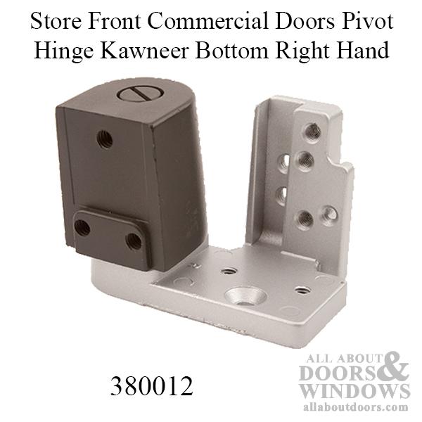 Store Front Commercial Doors Pivot Hinge Kawneer Bottom Rh