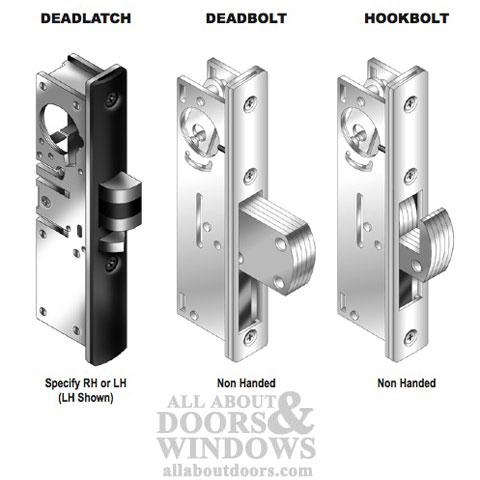 Deadbolt Lock 1 1 8 Inch W Radius Faceplate Store Front