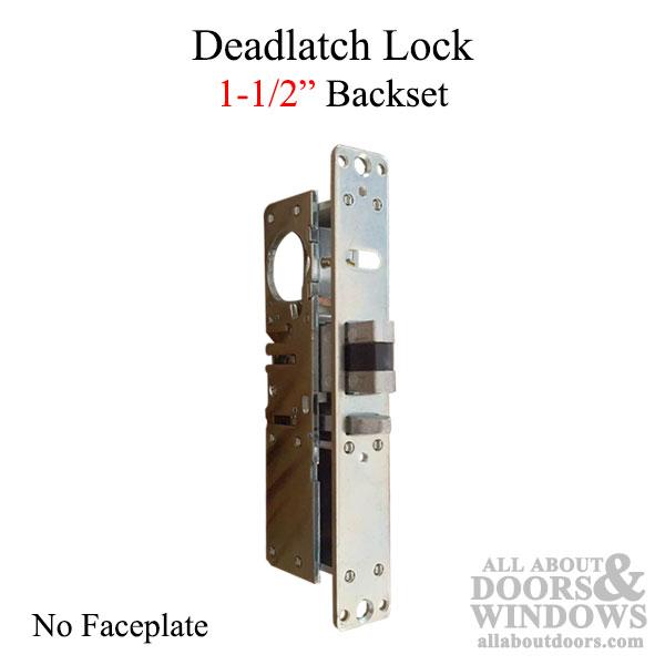 Deadlatch Lock 1 1 2 Mortise Lock No Faceplate