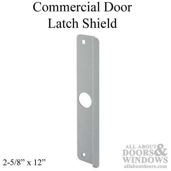 Commercial Door Latch Shield 2 5 8 X 12 Adams Rite Dead