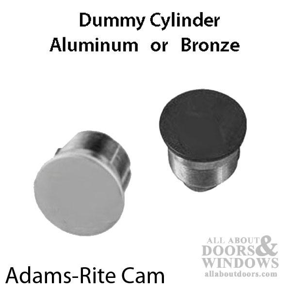 Adams Rite 1 Quot Dummy Mortise Cylinder Zinc Construction