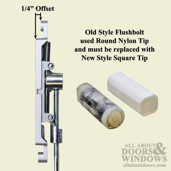 Flush Bolt 12 Inch 1 4bs Commercial Doors Hardware Aluminum