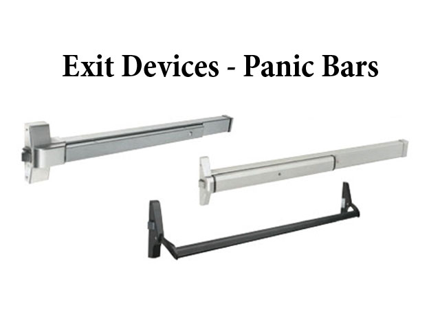 Exit Device Panic Bar Standard Easy Touch 48 Commercial