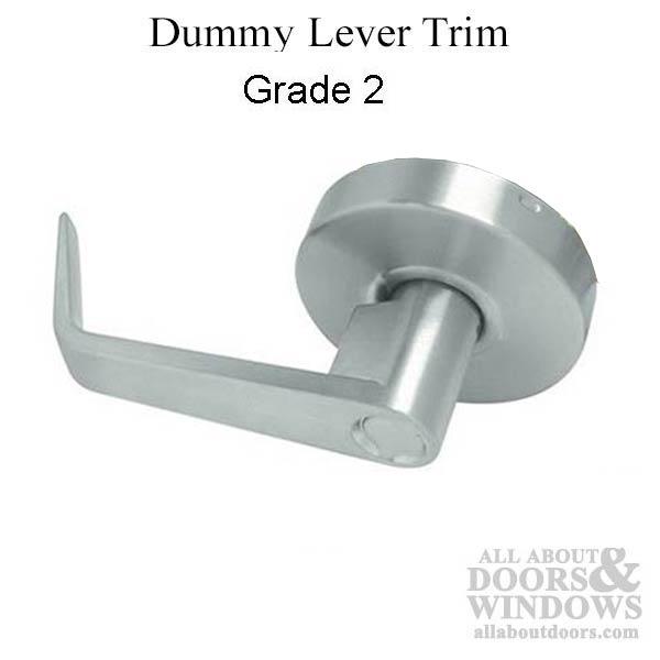 Grade 2 Dummy Lever Rigid Pull No Latch 26d Satin