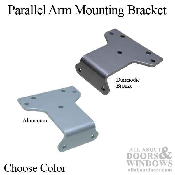 Parallel Arm Mounting Bracket For Heavy Duty Door Closer