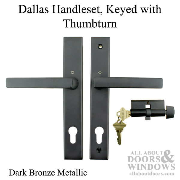 Dallas Contemporary Lever Handle Keyed Active With