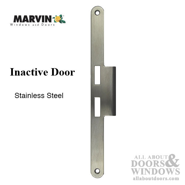 Marvin Strike Plate Inactive Panel Short Lip