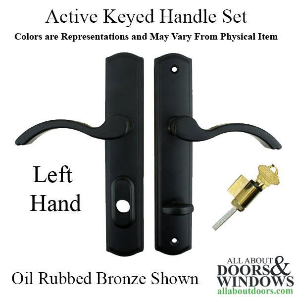 Active Handle Set 100 Series Lever C Plate Left Hand