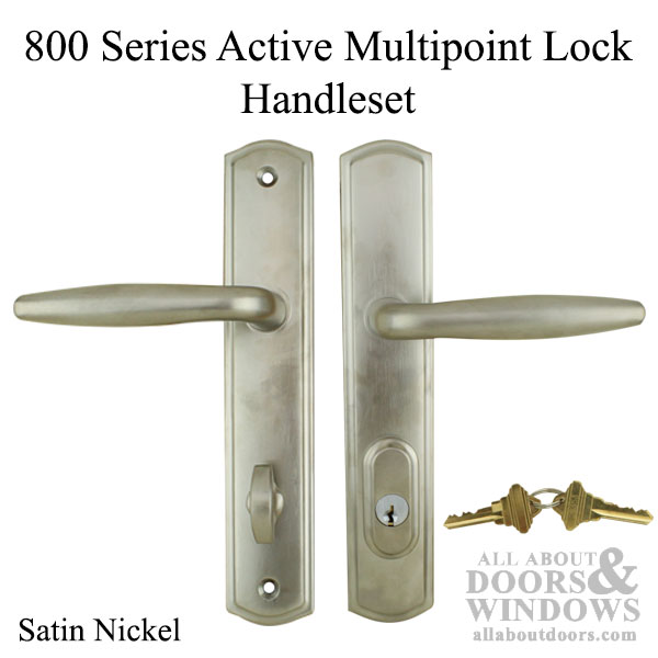 Active Keyed Multi Point Lock Handleset Trim 800 Handle