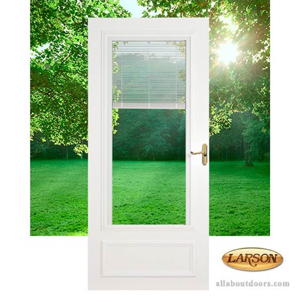 Larson Blinds Between The Glass Storm Door 400 17
