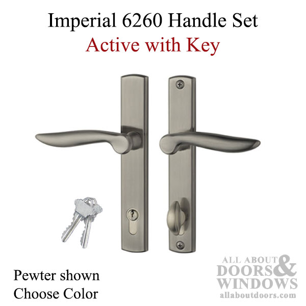 Handleset Imperial 6260 Active With Key Choose Color
