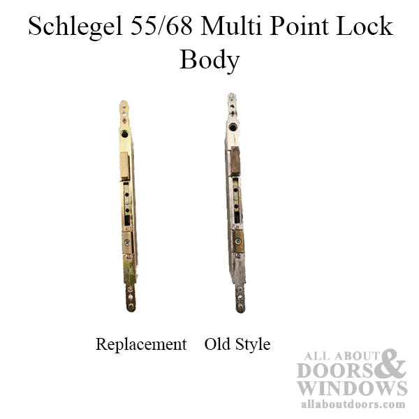 Schlegel 55 68 Multi Point Lock Body Only Exchange