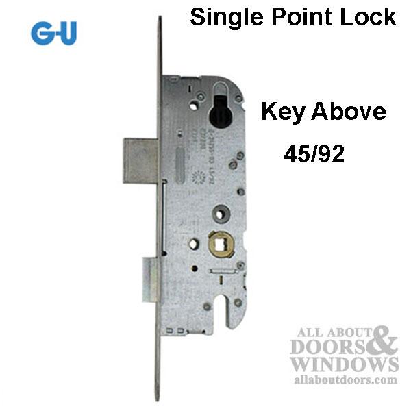 G U Unicorn 45 92 Single Point Mortise Lock Spl New