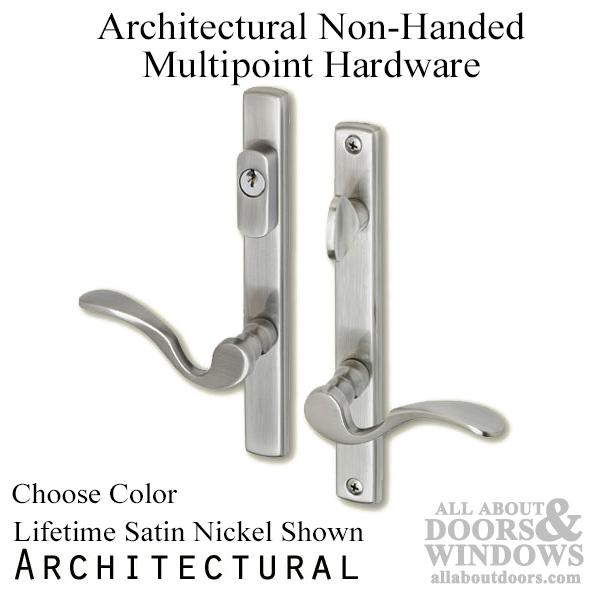 Multipoint Door Handles For Swing Door Active Keyed