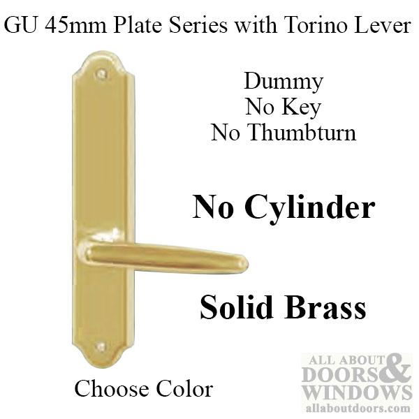 G U Torino Handle Amp 45mm Plate Dummy No Key No