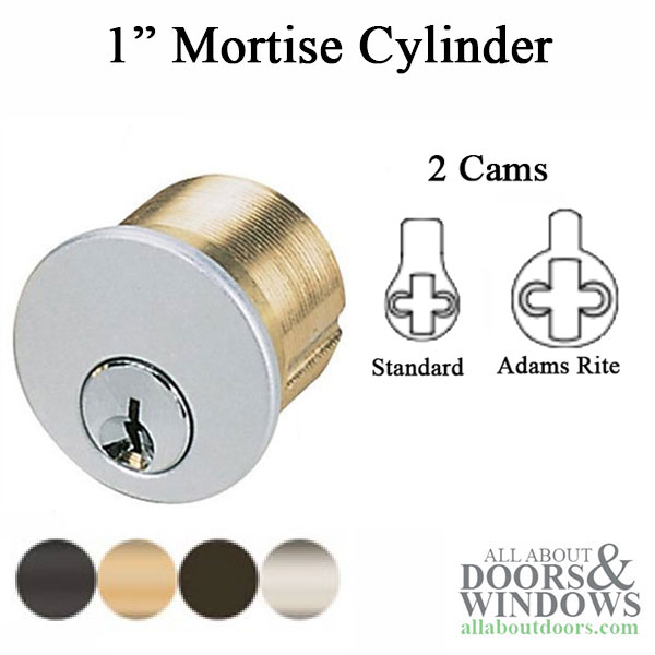 Marks Replacement 1 Inch Mortise Cylinder Schlage Key