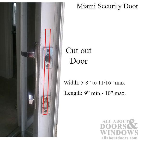 Security Door Amp Window Miami Fl Double Door Curved