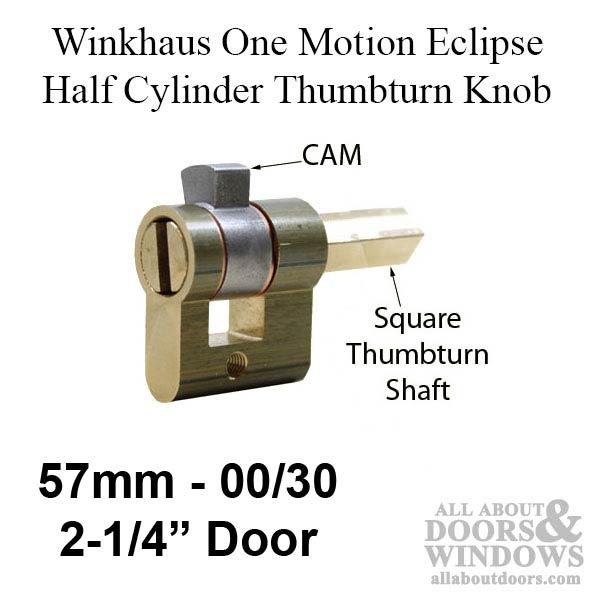 00 30t Winkhaus Eclipse 2 1 4 57 Mm Half Cylinder