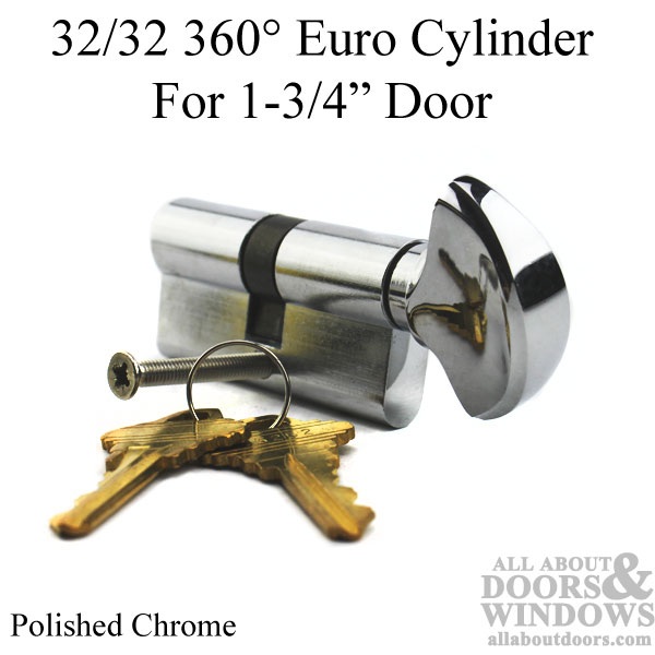 32 32 Keyed 64mm 360 176 Euro Profile Cylinder 1 3 4 Quot Door