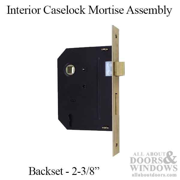 Pella Sliding Doors >> Mortise Lock, Interior lock case assembly w/ keys