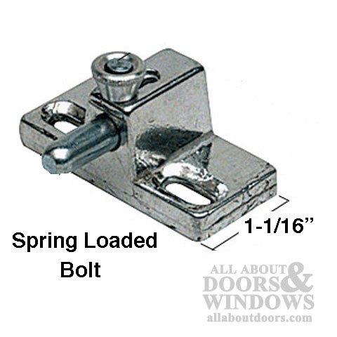 Slide Bolt Lock Security Bolt Lock All About Doors