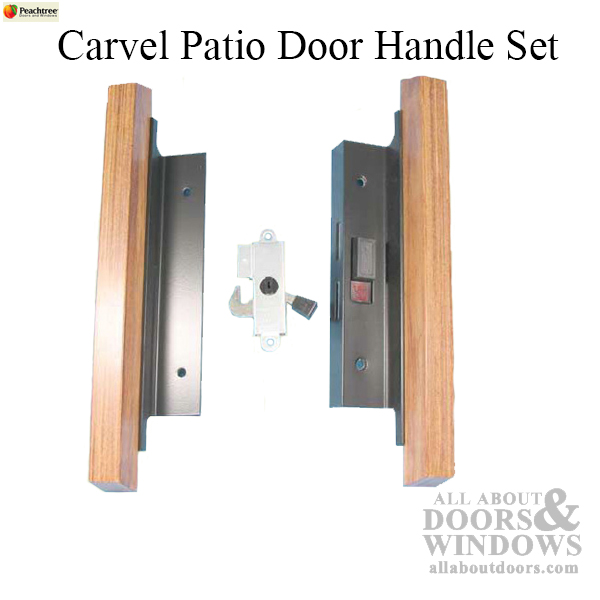 Peachtree Handle Carvel Patio Door Black Not Available
