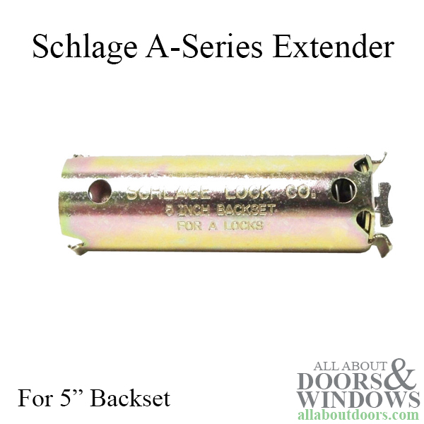 Schlage A Series Extender For 5 Quot Backset Extension