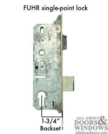 Fuhr Mortise Lock Single Point Discontinued