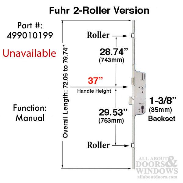 Fuhr 2 Roller Manual Version 35mm Backset Unavailable