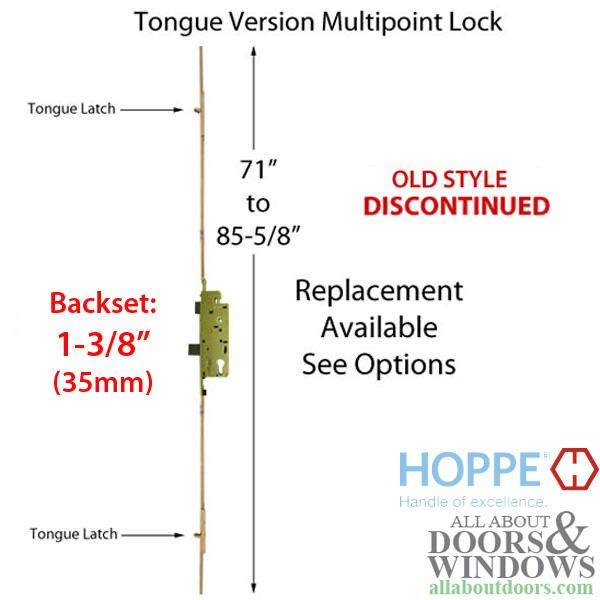 71 85 5 8 Inch Tongue Version 35mm Backset Discontinued