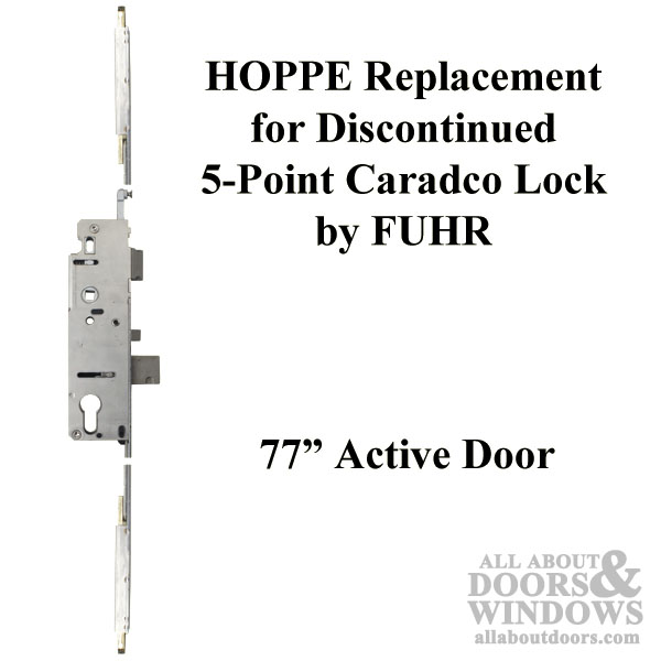 Hoppe Replacement For Fuhr Caradco 5 Point Multipoint Lock 77 In Active