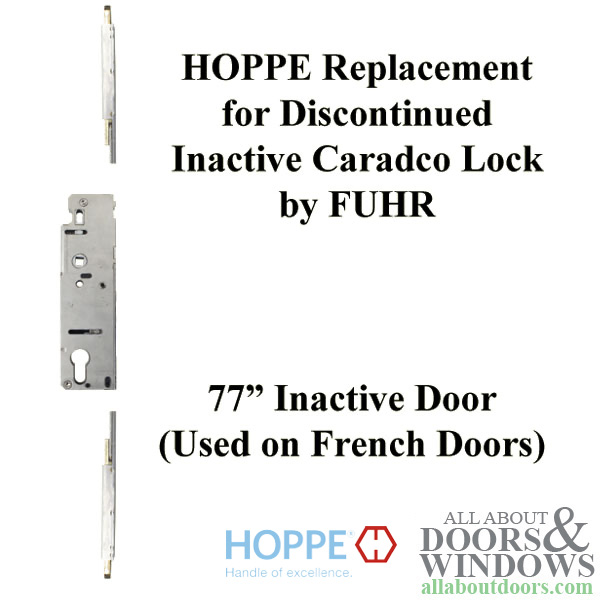 Hoppe Replacement For Fuhr Caradco Multipoint Lock 77