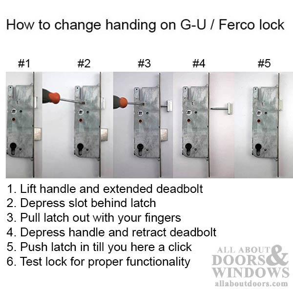 Active Pella G U 3 Point Multipoint Lock Kit W