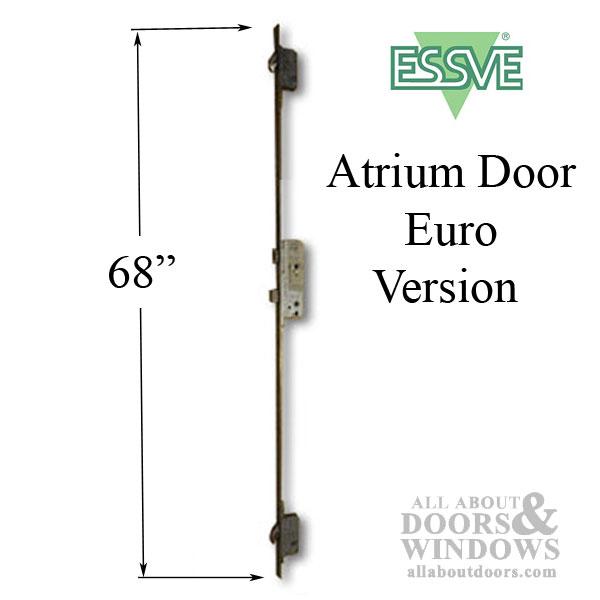 Atrium Essve 68 Quot Multipoint Lock 20mm 45 92 Active Single