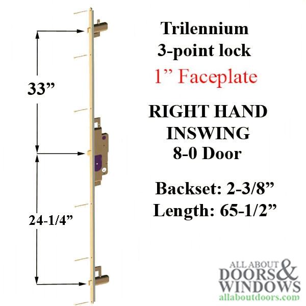 Trilennium 3000 Series 65 9 16 8 0 Door Right Hand