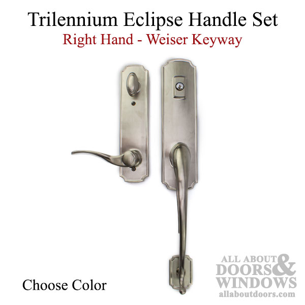 Trilennium Eclipse Handle With Grip Right Hand Kwikset