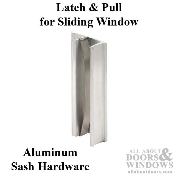 Latch And Pull Vinyl And Aluminum Sash Hardware
