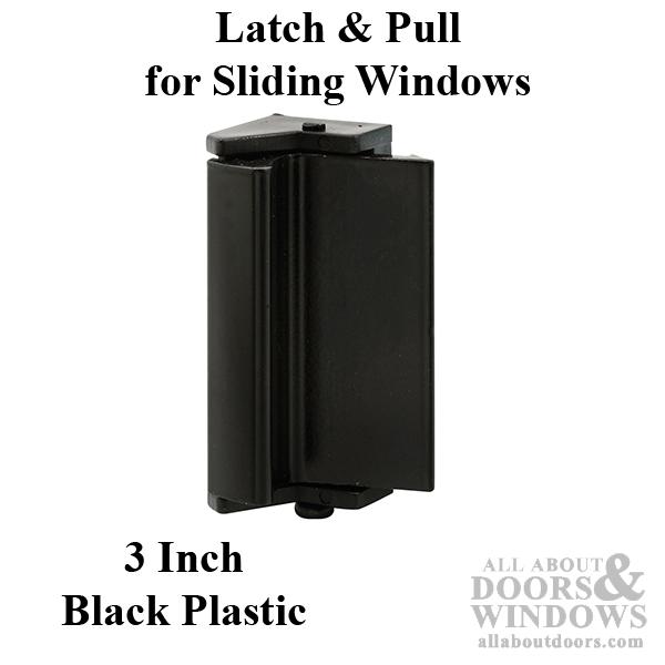 Latch And Pull Vinyl And Aluminum Sash Hardware Plastic