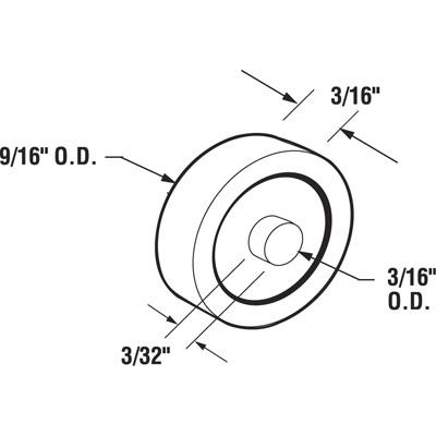 Discontinued Roller Flat Sliding Windows Steel Ball