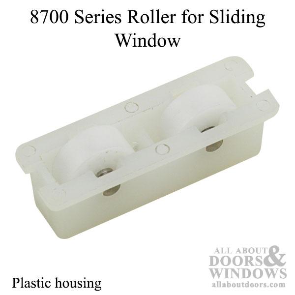 8700 Series Roller Slider Window