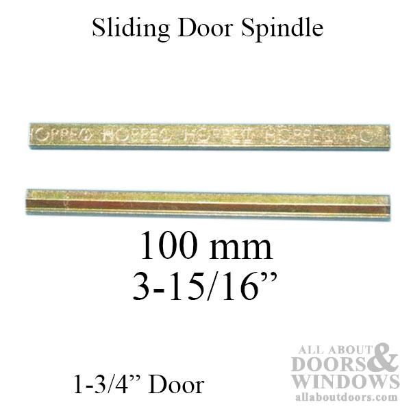 Spindle 100mm For Fuhr Sliding Door 1 3 4 Quot Thick Door
