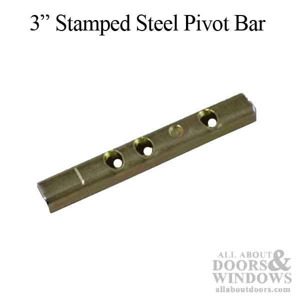 Straight Pivot Bars Metal Amp Vinyl Tilt In Windows