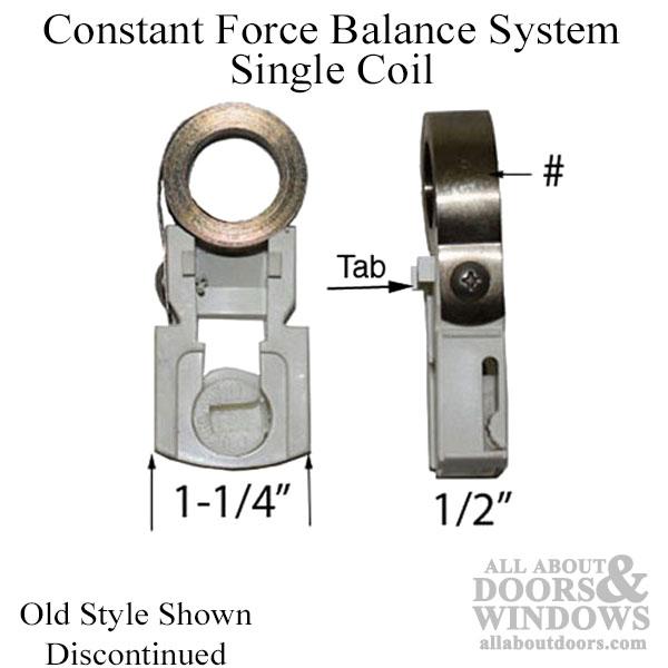 Window Balance Parts Window Balances Constant Force Coil