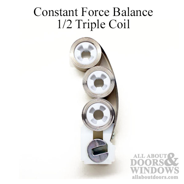 Constant Force Balance Triple Coil