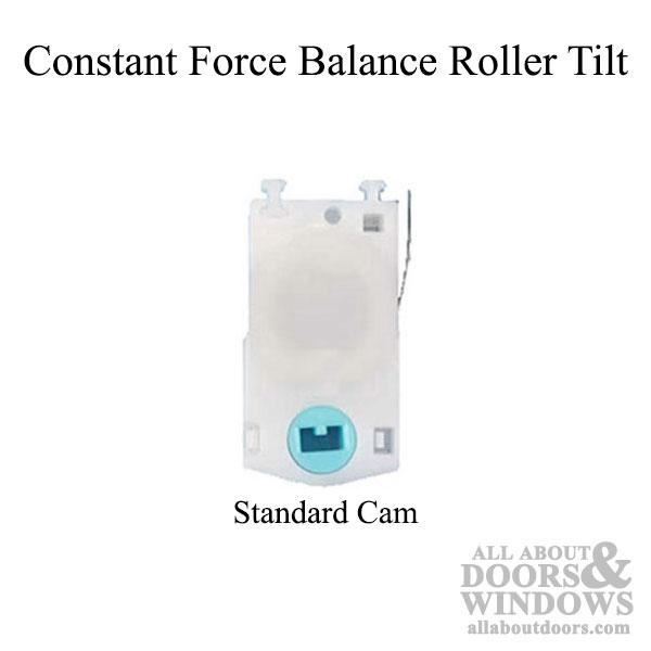 Roller Tilt Constant Force Balance Single Coil Choose Size